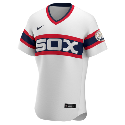 Men's Chicago White Sox Nike White Alternate 1983 Authentic Official Team Jersey