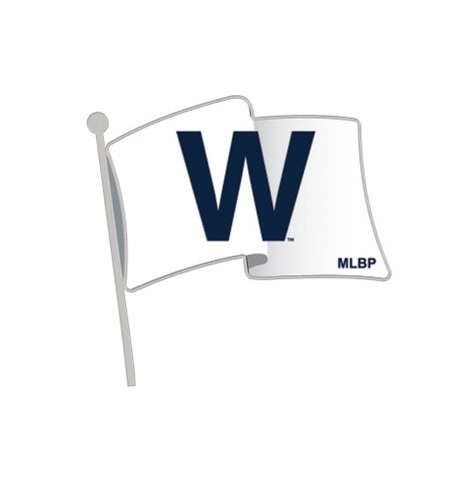"Chicago Cubs ""W"" Flag Collectors Lapel Pin"