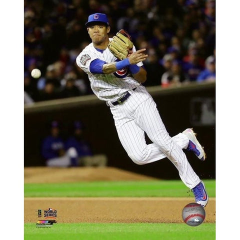 Addison Russell Game 5 of the 2016 World Series Photo Print