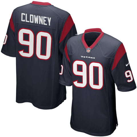 Youth Houston Texans Jadeveon Clowney Nike Navy Blue Team Color Game Jersey
