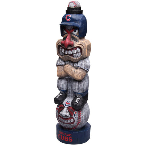 "Chicago Cubs 17"" Tiki Figurine"