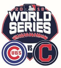 Chicago Cubs 2016 World Series Dueling Team Logo Pin