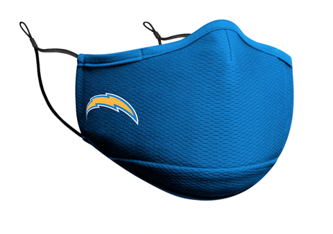 Adult Los Angeles Chargers New Era Team Color On-Field Face Mask