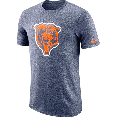 Men's Chicago Bears Marled Historic Dri-Fit Tee