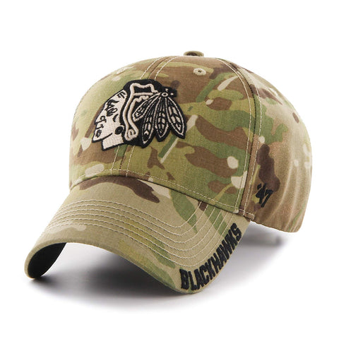 '47 NHL Chicago Blackhawks Myers MVP Adjustable Hat