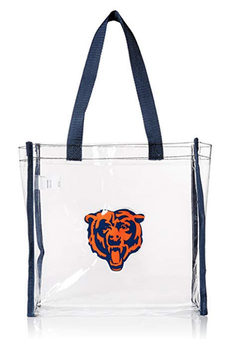 Chicago Bears Stadium Regulated Clear Bag