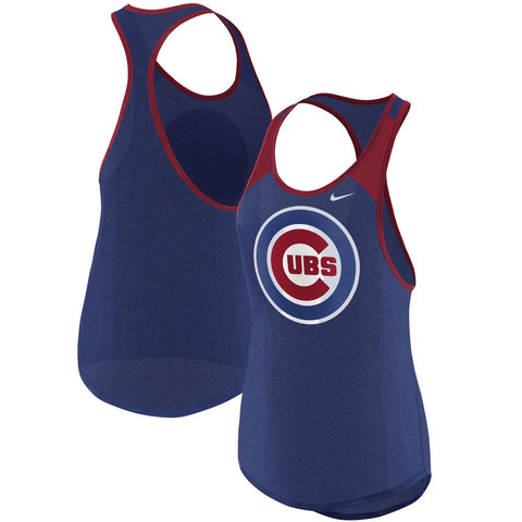 Women's Chicago Cubs Legend Wordmark 1.7 Tank Top
