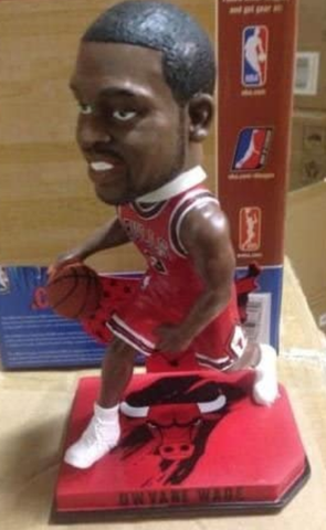 Forever Collectibles Dwyane Wade Chicago Bulls Nation Bobblehead