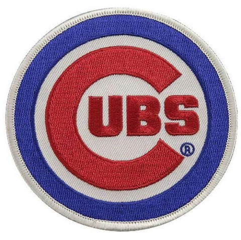 Chicago Cubs Primary Logo Patch
