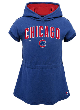 Toddler Girls Chicago Cubs Outerstuff MLB Celebrate Dress