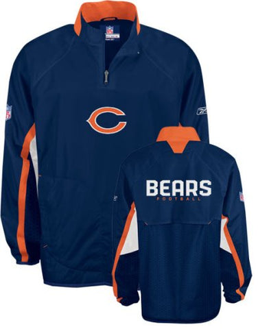 Youth Reebok Chicago Bears Navy Apache Hot Jacket
