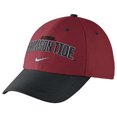 Alabama Crimson Tide Nike Legacy 91 Verbiage Performance Flex Hat