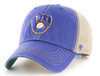 Mens Milwaukee Brewers Trawler Adjustable Trucker Hat