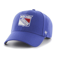 47 Brand New York Rangers NHL Blue MVP Adjustable Hat