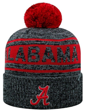 Alabama Crimson Tide NCAA Top of the World Sock It 2 Me Cuffed Knit Hat