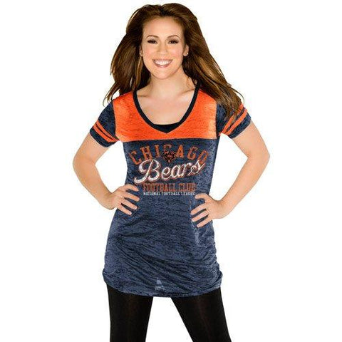 Womens Chicago Bears Coop 2 Football Top