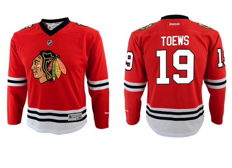 Chicago Blackhawks Reebok Jonathan Toews Toddler Jersey (2T-4T)