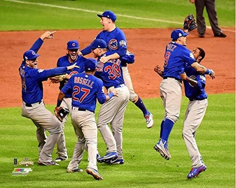 Chicago Cubs 2016 World Series Celebration Photo