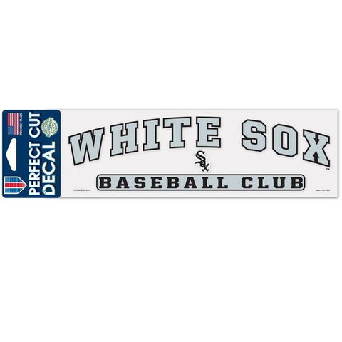 Chicago White Sox 3X10 Baseball Club Decal By Wincraft