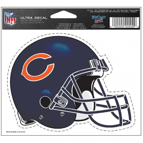 Chicago Bears 4.5X6 Multi-Use Decal By Wincraft