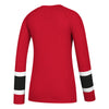 Women's Chicago Blackhawks Long Sleeve Henley Tee