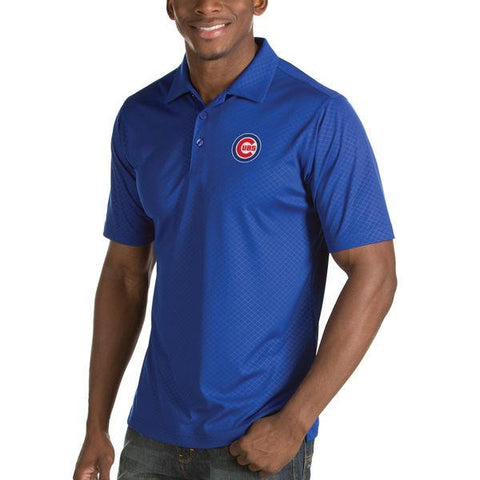 Mens Chicago Cubs Inspire Polo By Antigua