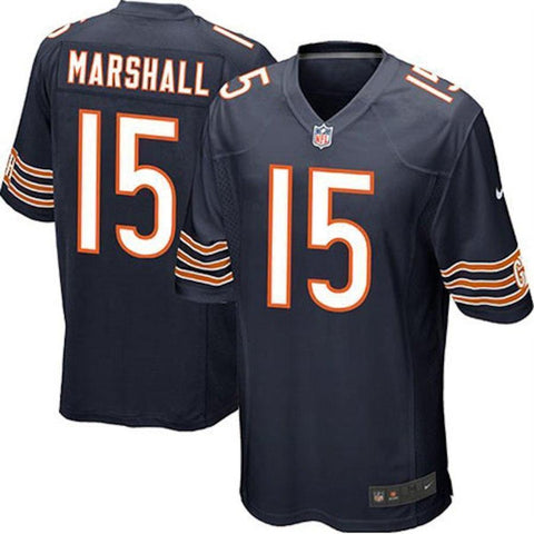 Child Chicago Bears Brandon Marshall Nike Navy Game Jersey