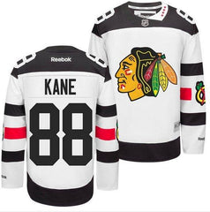 Men's Chicago Blackhawks Patrick Kane 2016 Stadium Series Premier Jersey With Pro Stitch lettering