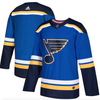 Men's St. Louis Blues adidas Blue Home Authentic Blank Jersey