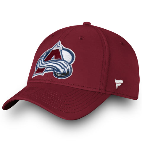 Men's Colorado Avalanche Primary Logo Fanatics Flex Hat