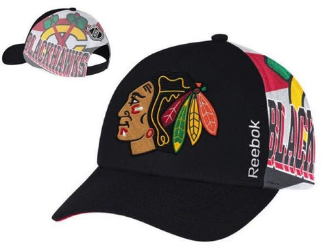 Youth Chicago Blackhawks NHL15 Playoff Snapback Hat By Reebok