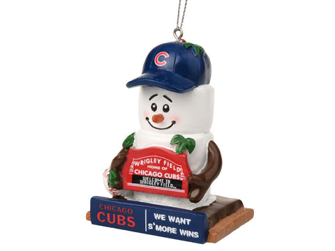 Chicago Cubs Thematic Smore Ornament