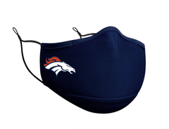 Adult Denver Broncos New Era Team Color On-Field Face Covering