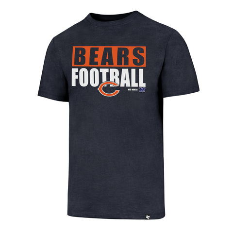Chicago Bears Football Club Tee By '47 Brand