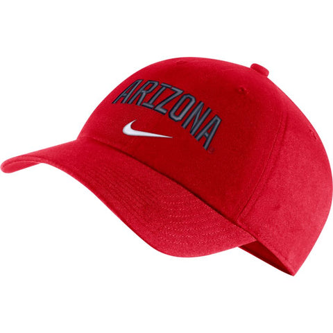 Arizona Wildcats Nike Heritage 86 Arch Adjustable Performance Hat