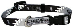 Chicago White Sox MLB XL Adjustable Pet Collar By Hunter