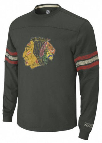 Chicago Blackhawks Stitched Indian Head Logo W/Stripes