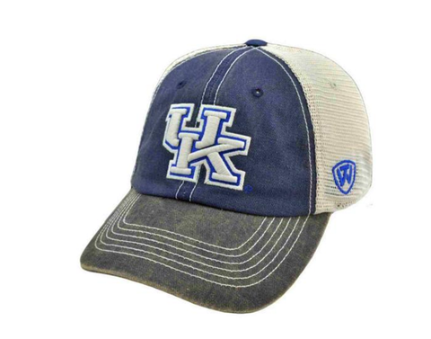 Top of the World Kentucky Wildcats Blue Offroad Flexfit Hat Cap