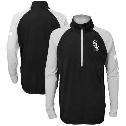 Youth Chicago White Sox Destined 1/2 Zip Track Jacket