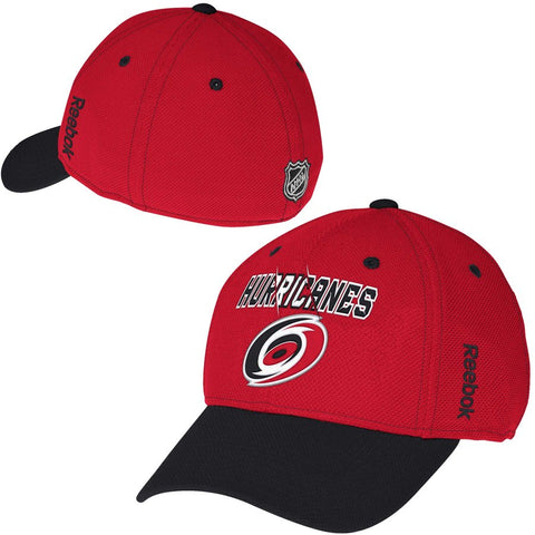 Reebok Carolina Hurricanes NHL Center Ice Second Season Structured Flex Hat