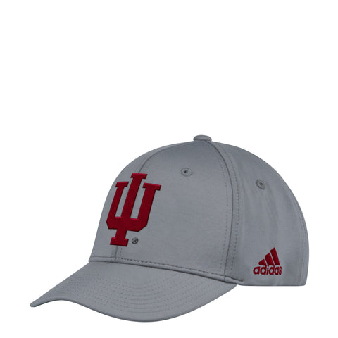 Indiana Hoosiers Official Sideline Adidas Adjustable Climalite Hat