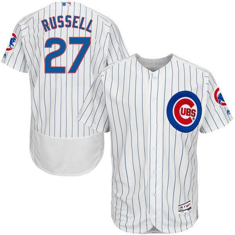 Chicago Cubs Addison Russell Flex Base Authentic Collection Jersey