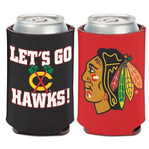 CHICAGO BLACKHAWKS SLOGAN 12 OZ. CAN COOZIE, WINCRAFT