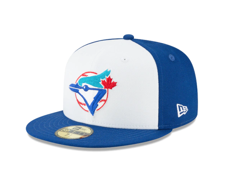 Men's Toronto Blue Jays Cooperstown Collection White/Royal 59Fifty Fitted Hat