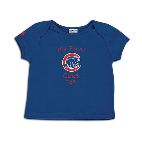 Chicago Cubs Majestic Infants My First Tee - Pro Jersey Sports