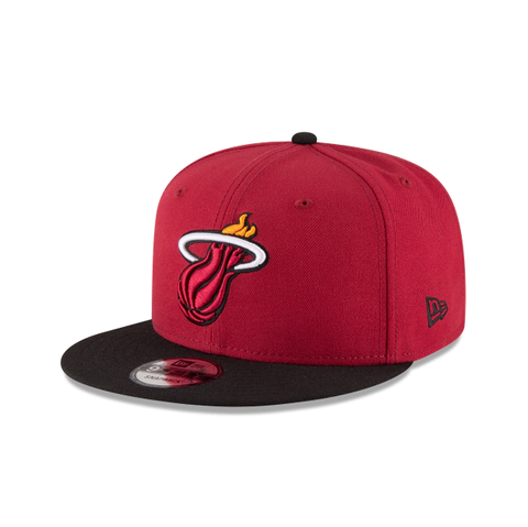 Miami Heat 9Fifty 2Tone Red/Black Snapback Hat