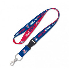 Arizona Wildcats Double Sided Lanyard With Detachable Buckle By Wincraft