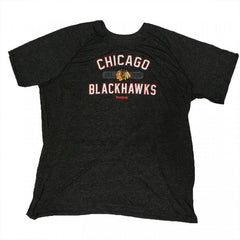 Blackhawks Reebok S/S Ultimate Arch Wordmark Shirt