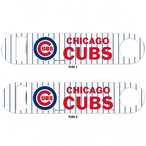 "Chicago Cubs 7"" Stainless Steel Bottle Opener"