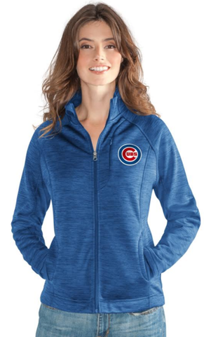 Women's Chicago Cubs Hand Off Full Zip Jacket By G-III